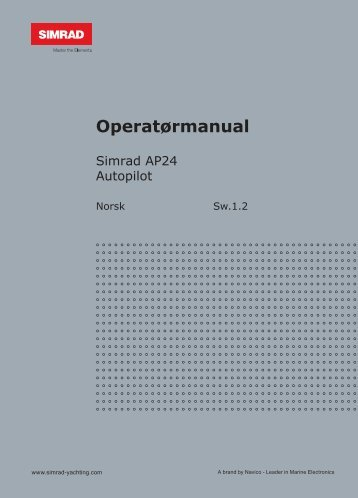 Operatørmanual