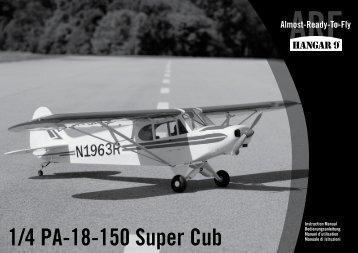 1/4 PA-18-150 Super Cub - Horizon Hobby