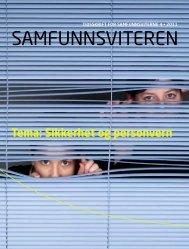 Tema: Sikkerhet og personvern - Samfunnsviterne