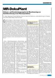 MR-DokuPlant - PROGIS Software  GmbH