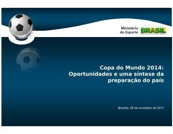 Copa do Mundo 2014: Oportunidades e uma síntese da ... - Abde
