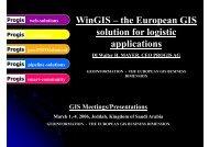 WinGIS - PROGIS Software  GmbH