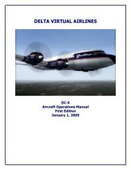 Engine Start - Delta Virtual Airlines