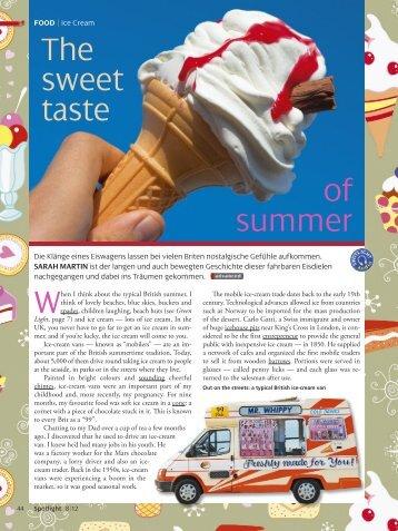 The sweet taste of summer - Spotlight Online
