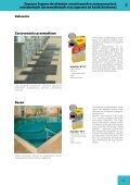 Zaprawy fugowe do okładzin ceramicznych w zastosowaniach ... - Page 4