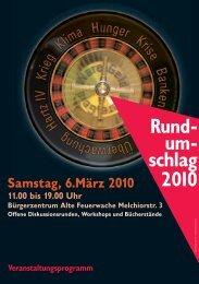Rund- um- schlag 2010 - Scharf Links