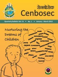 Nurturing the Dreams of Children - CBSE