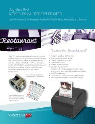 Download Spec Sheet - The Best Source for Financial equipment ...