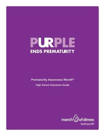 world-prematurity-day-high-school-guide