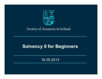 130516 Solvency II for Beginners.pdf