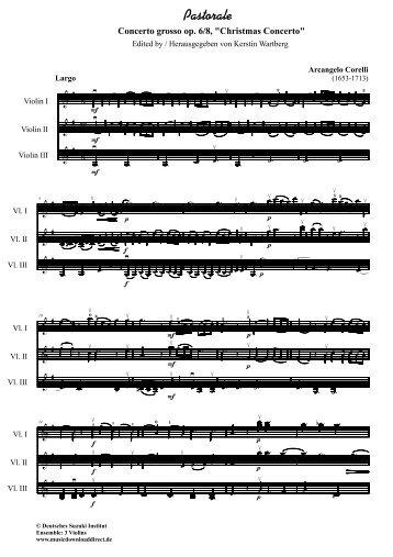 1. Arrangement für 3 Violinen - Germansuzuki.de