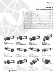 Series N Actuators - Rowe Sales & Service Inc.