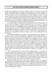 DAL TESTO CRITICO DI GÉRARD-GEORGES LEMAIRE - Artelab