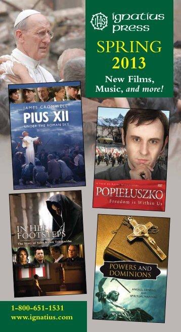 SPRING 2013 - Ignatius Press