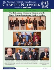 Volume 5, Issue 7 - National Football Foundation