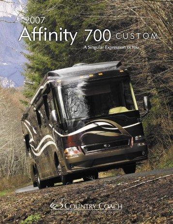 2007 Affinity Brochure - Rvguidebook.com