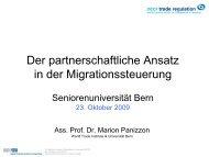 Migration (pdf, 713KB) - Senioren-Universität - Universität Bern