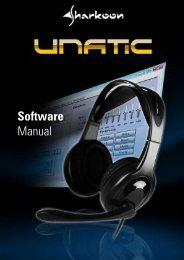 Software Manual - Sharkoon