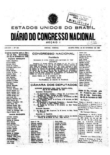 DIÁRIO DO CONGRESSOMACID.NAl - Câmara dos Deputados