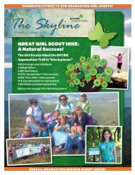 Spring-Summer 2013 - Girl Scouts of Virginia Skyline Council