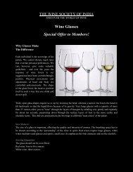 Riedel Glassware - The Wine Society of India