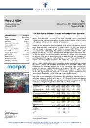 Morpol ASA - Fondsfinans