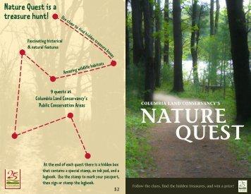NATURE QUEST - Columbia Land Conservancy