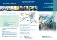 Flyer Patienteninformation - Havelland Kliniken Unternehmensgruppe