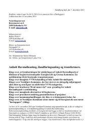 Klik her for at læse mere - Bevægelsen for miljøvenlig eltransmission