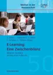 E-Learning - Mediendidaktik & Wissensmanagement - Universität ...