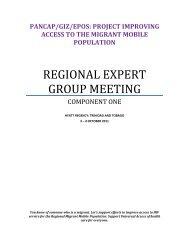 regional expert group meeting - Pan Caribbean Partnership against ...