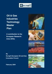 Oil & Gas Industries Technology Master Plan - Assomineraria