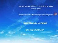 Operational LAM at ZAMG (ALADIN) - Euroforecaster.org