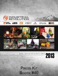 Industrial Revolution Press Kit - ORWM 2013