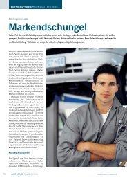 Markendschungel - Auto Service Praxis