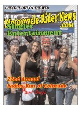 July/Aug 08 - Motorcycle Rider News