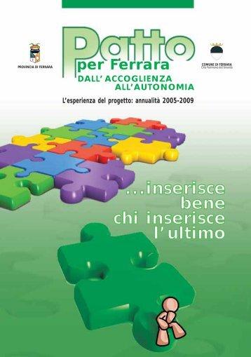 Patto per Ferrara - Comune di Ferrara