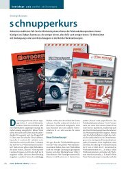 schnupperkurs - Auto Service Praxis