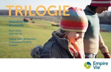 Trilogie – Brochure à l'intention du client (E-0203)