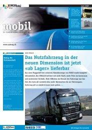 Das Nutzfahrzeug in der neuen Dimension ist jetzt «ab ... - Auto AG