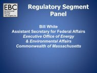 Bill White - Environmental Business Council of New England, Inc.