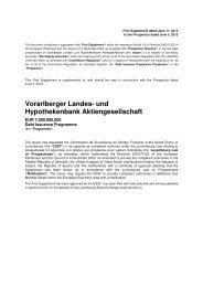 Vorarlberger Landes- und Hypothekenbank Aktiengesellschaft