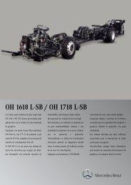 OH 1618 L-SB / OH 1718 L-SB - Mercedes Benz