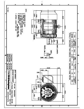 Teco westinghouse motor company for Teco westinghouse motor catalog