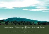 Amberley Concept Development Plan 2005 - Hurunui District Council