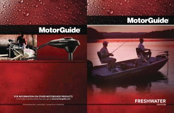 for information on other motorguide products