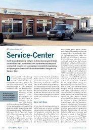 Service-Center - Auto Service Praxis