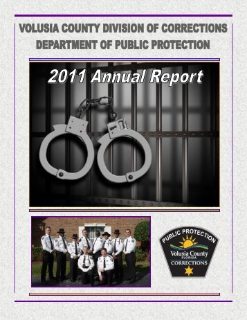 Corrections Annual Report - Volusia County Government