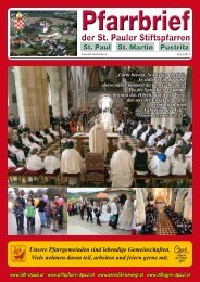 PDF (2 MB) Pfarrblatt Juli 2013 - Katholische Kirche Kärnten