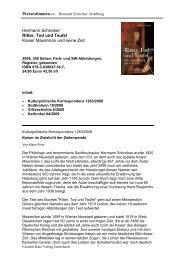 Hermann Schreiber Ritter, Tod und Teufel Kaiser Maximilian und ...